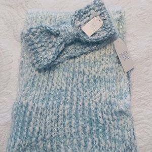 Time and Tru Infinity Scarf and Headband 2 pc